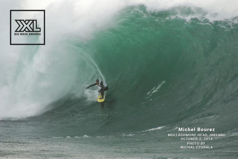 Michel Bourez – le 'Spartan' a osé affronter Mullaghmore Head, une des plus grosses vagues d'Europe !