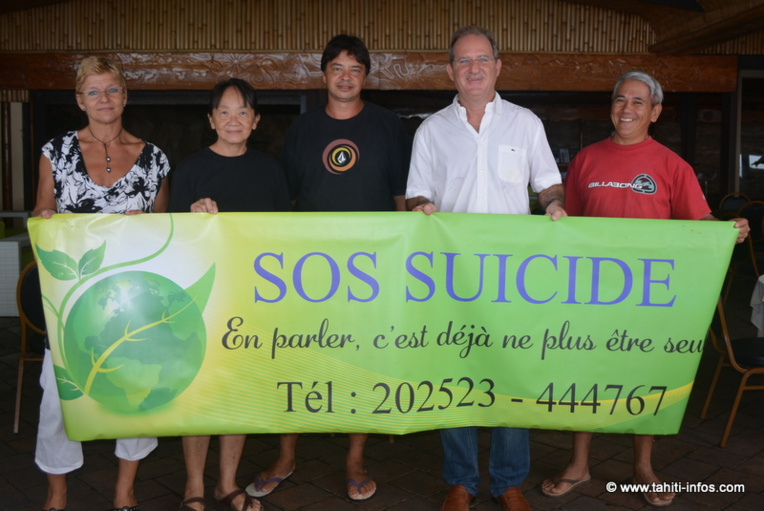 Subvention pour l'association SOS Suicide