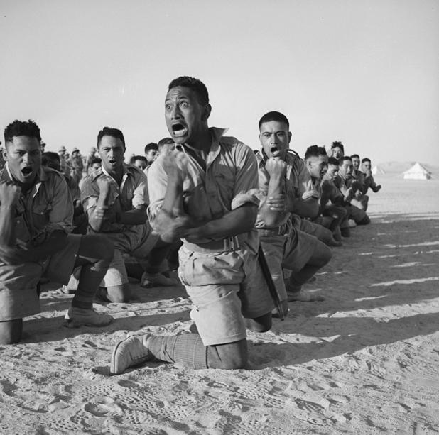 Les Maori de la Seconde Guerre mondiale prennent des couleurs
