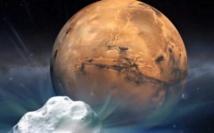 """La comète Siding Spring """"frôle"""" Mars à... 136.000 km"""