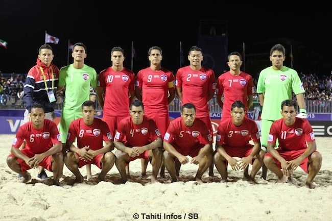 Beach soccer – Coupe du monde 2015 au Portugal : Les Tiki Toa qualifiés d'office par l'OFC !