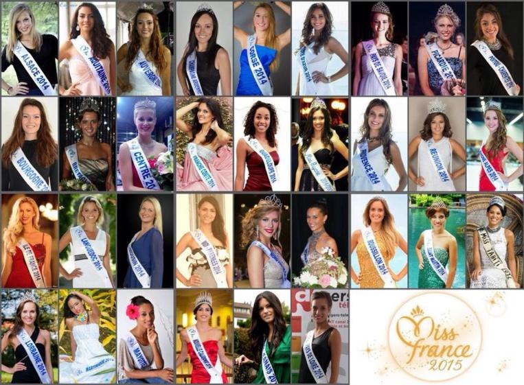 Miss France 2012 : découvrez en images les 33 candidates  telestar