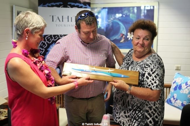 Va'a V 6 – Air Tahiti Nui offre une pirogue aux Vendéens !