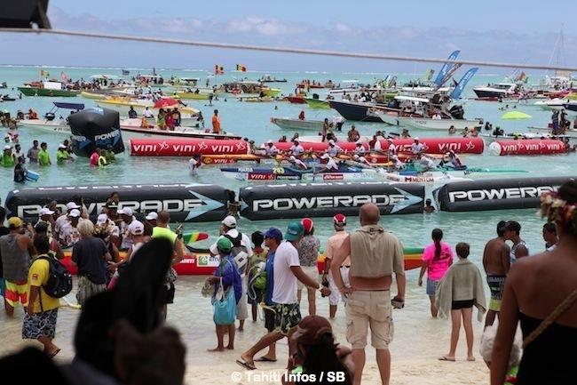 Hawaiki Nui Va'a 2014 : les bémols de la course…Bagarres, triche, imprudence et pollution...