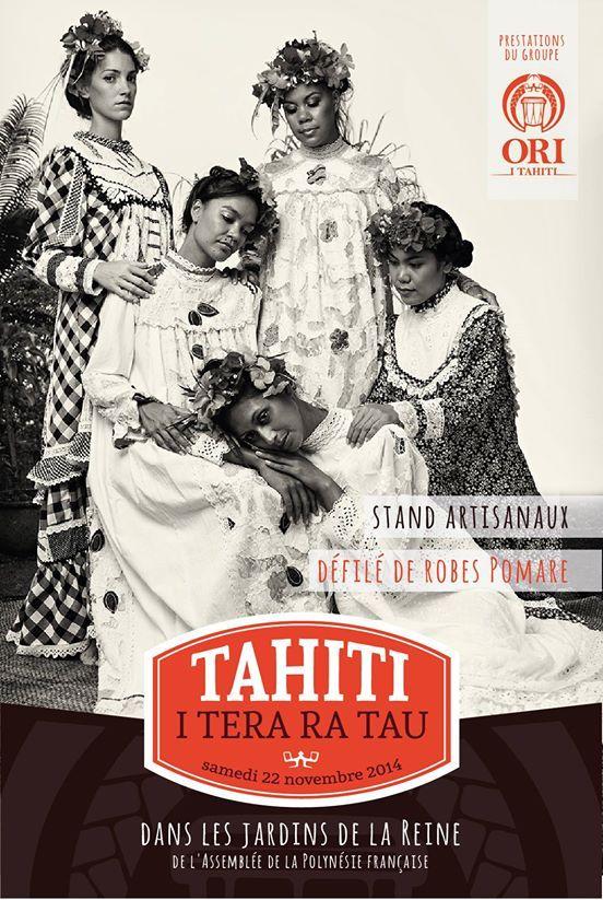 "Ori i Tahiti organise un défilé ""Robes Pomare"" pour financer son Heiva 2015"