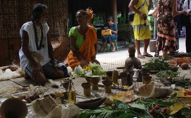 Les tapa océaniens dévoilent leurs secrets (reportage)