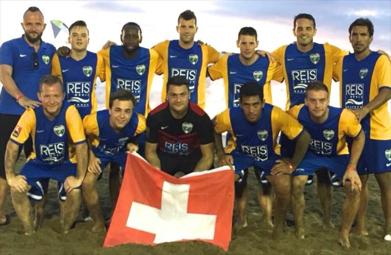 Beachsoccer – Championnats de Tobago : Teva Zaveroni et Heimanu Taiarui gagnent avec les 'Chargers' Suisses !