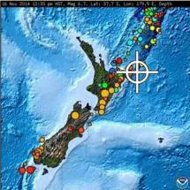 Puissant séisme de magnitude 6,7 au large de la Nouvelle-Zélande