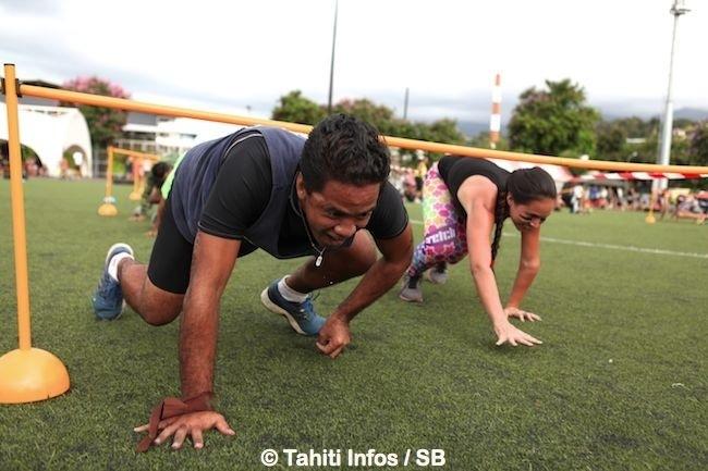 'Fit'n Bootcamp' – du 'fitness militaire' pour le fun : succès de la première édition