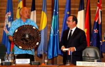 Changements climatiques : la France veut se tenir aux côtés de l'Océanie