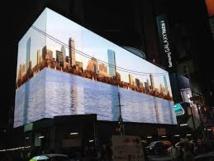 USA: Times Square inaugure le plus grand écran numérique du monde