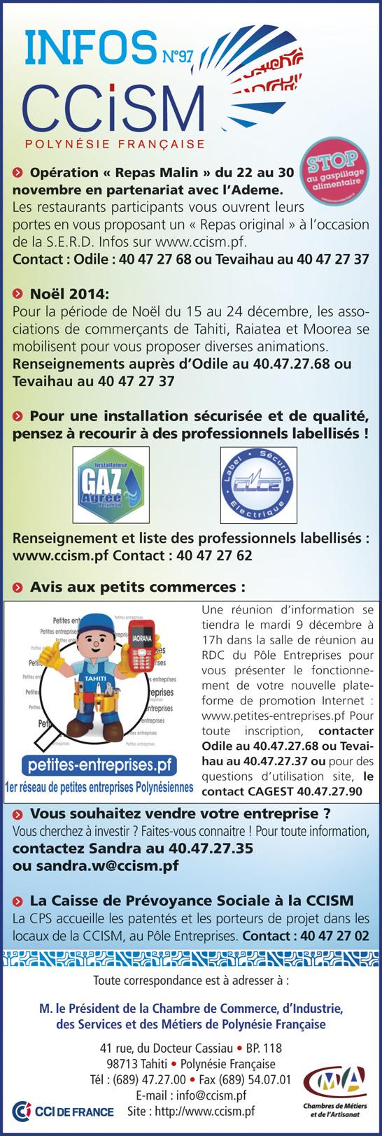 Infos CCISM N°97