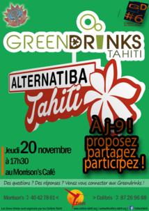 Green Drinks : les écolos de Colibris préparent leur village Alternatiba