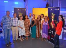 La famille du Fifo réunie ce jeudi matin sur le plateau de Polynésie 1re pour présenter en détail la 12e édition.