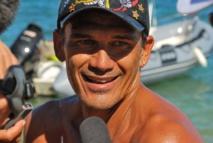 Windsurf: Robert Teriitehau toujours accro à l'adrénaline