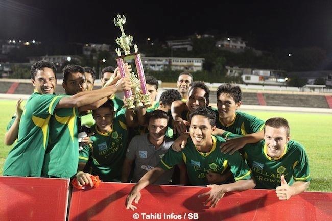 Tefana, impérial depuis le début de saison, avait gagné le trophée des champions en septembre devant Pirae