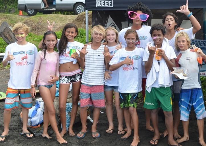Surf – Tamarii Surf Tour : la relève est assurée.