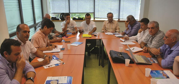 Les ateliers ont fait salle comble avec des experts de haut niveau. Ici celui sur les infrastructures.