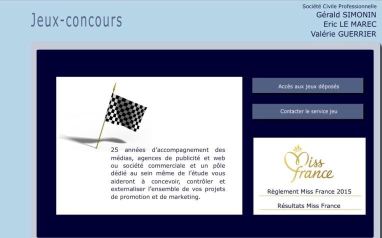 L'étude où est déposé le règlement officiel du concours Miss France met en avant 25 ans de collaboration avec la chaîne Tf1.
