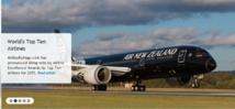 Meilleure compagnie au monde : Air New Zealand au septième ciel
