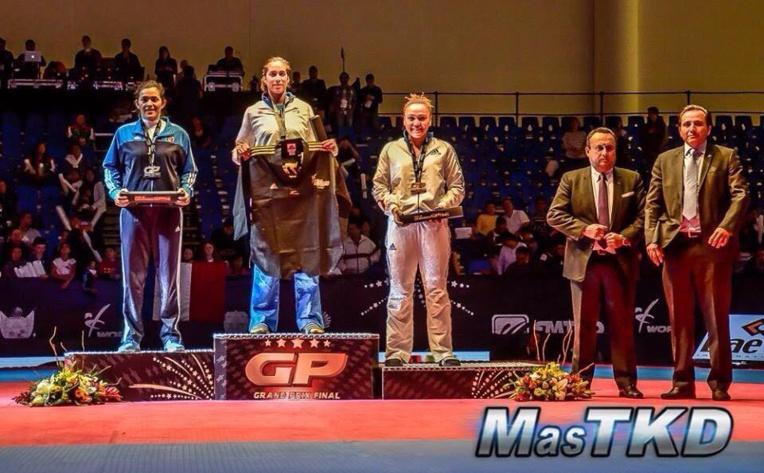 Taekwondo: Anne-Caroline Graffe décroche le bronze à Quéretaro