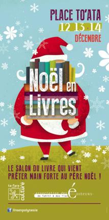 Noël en livres les 12,13 et 14 décembre