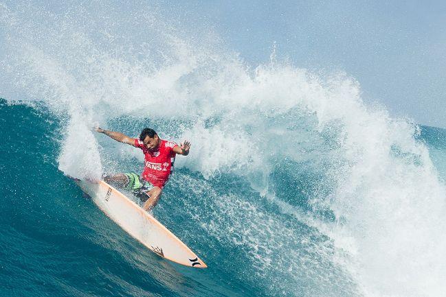 Le surfeur originaire de Rurutu s'est avéré imbattable à Sunset Beach