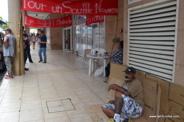 Faible mobilisation à la grève du Sefi