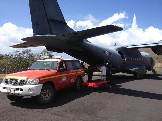 Evasan depuis Ua Pou : l'équipage du Casa de l'armée a fait des prouesses