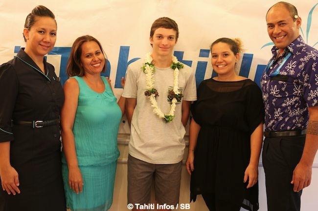 Le jeune Loic Mevel devient ambassadeur ATN