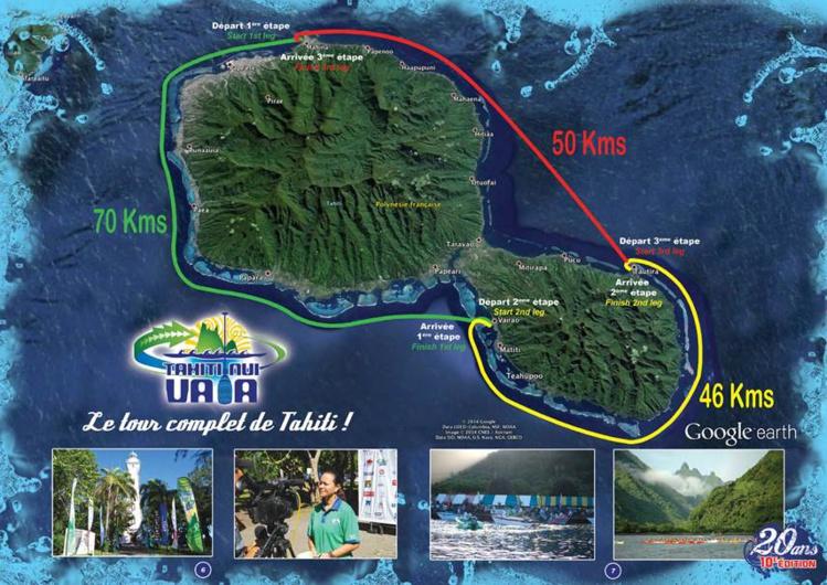 Tahiti Nui Va'a : Un nouveau site pour suivre la course de plus près