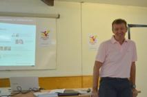 Laurent Devemy, le président de l'association Tahiti congrès.