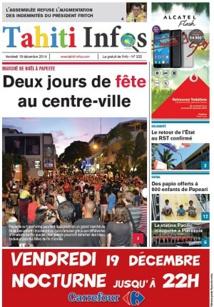 TAHITI INFOS N°322 du 19 décembre 2014
