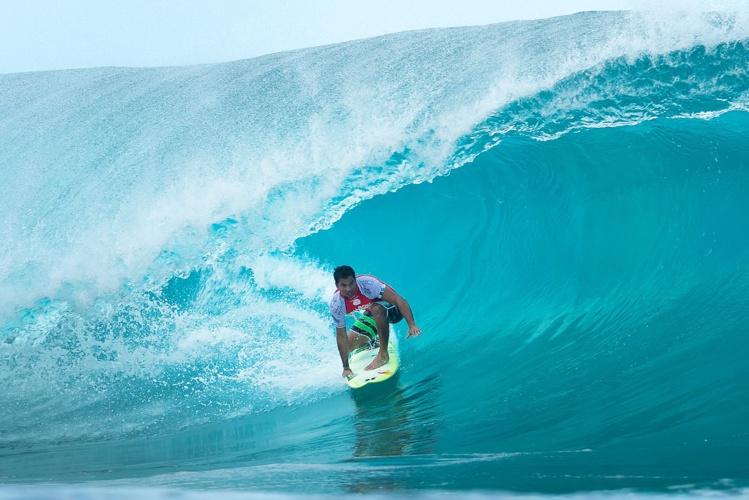 Michel Bourez avec sa 5ème place, écrit un nouveau chapitre de l'histoire du surf tahitien