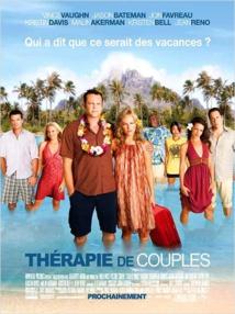 """le film """"Thérapies de couple"""" tourné en 2008 et produit par Universal avait nécessité la location complète du complexe hôtelier Le St Régis de Bora Bora."""