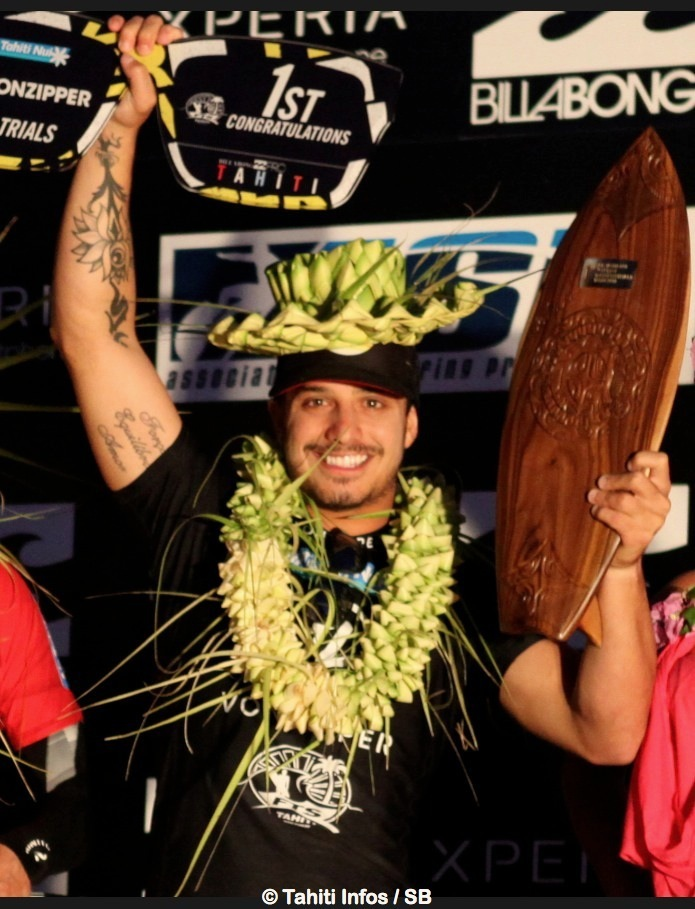 Riccardo lors de sa victoire en 2012