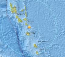 Puissant séisme au Nord-est de Port-Vila