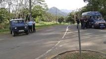 Coup de feu sur des gendarmes en Calédonie: deux blessés