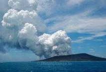 Le volcan de Tonga se calme peu à peu