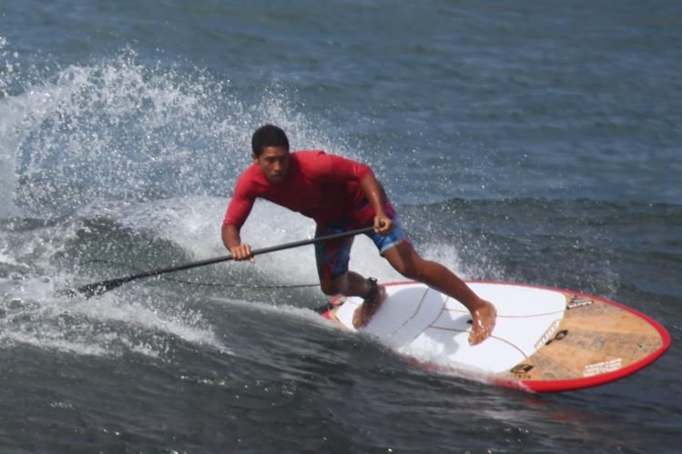 Poenaiki Raioha en action (archives SB)