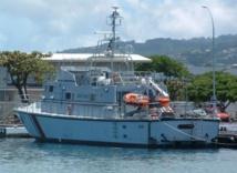 Le patrouilleur Arafenua, ici à Tahiti, s'est échouée début juin 2014 sur le récif de l'atoll de Tikei, à 582 km au nord-est de Tahiti.