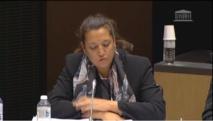 Maina Sage, députée polynésienne siège au groupe UDI à l'assemblée nationale