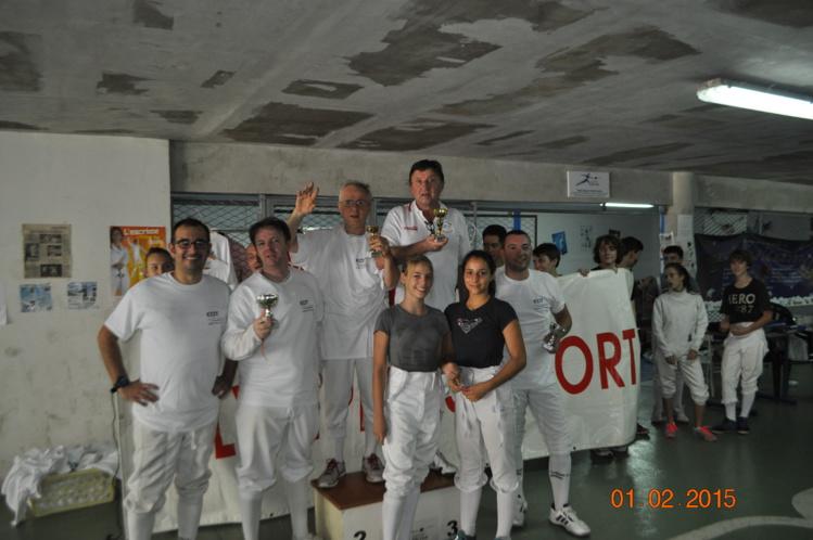 Escrime: Bruno Sanchez et Jean Cunéo remportent 1er Tournoi Olympians