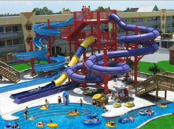 Un des parcs construit par Aquakita