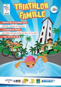Le Triathlon Famille 2015 aura lieu ce Dimanche 15 février