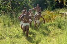 Une des séquences du film de promo d'Earth Hour Tahiti tournée samedi.