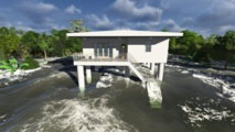 Des bâtiments flottants protégeant les individus des conséquences de l'évolution climatique et des tsunamis