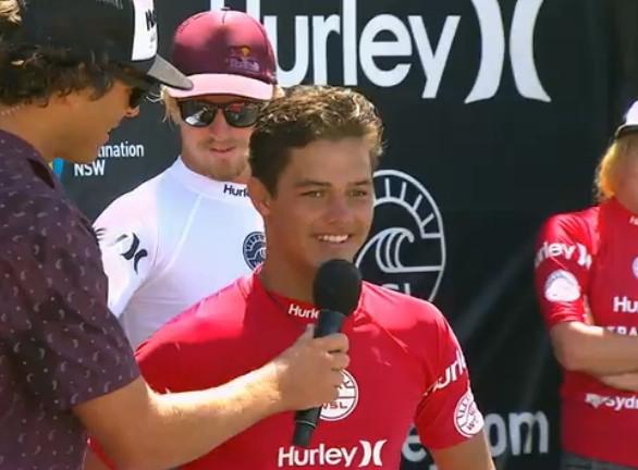 Surf – Hurley Australian Pro : Mateia Hiquily, 2ème, sera-t-il le nouveau Michel Bourez ?