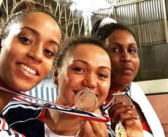 Anne Caroline vient d'obtenir 2 médailles de bronze d'affilée