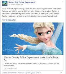 USA: la police lance un avis de recherche contre Elsa, la Reine des Neiges